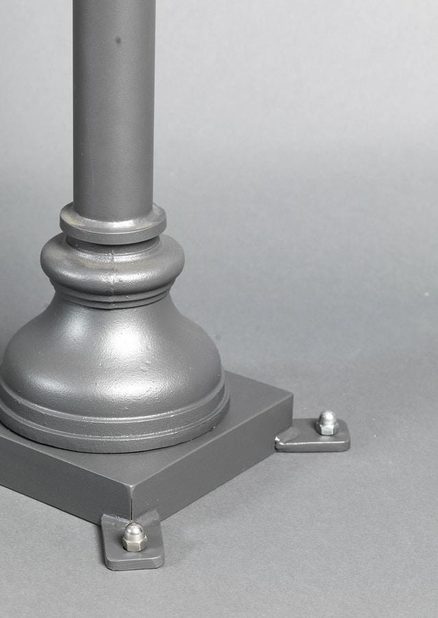 LUNGARNO GL3007POLE-1, Outdoor floor lantern
