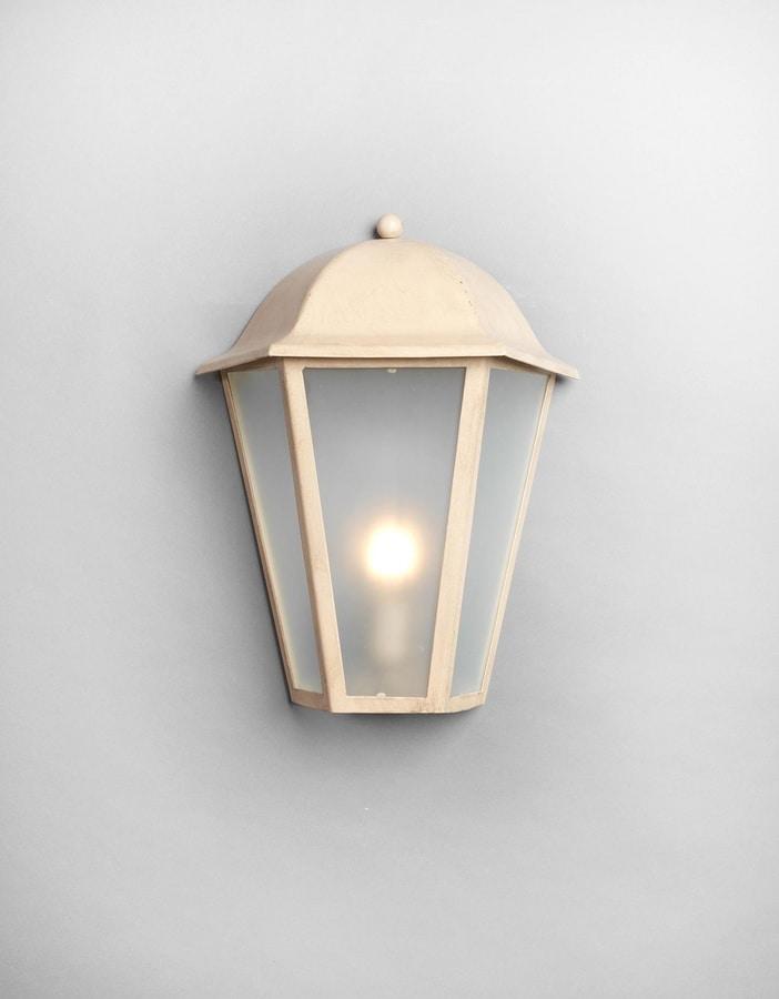 MARMI GL3014WA-1M, Lantern in iron, beige finish