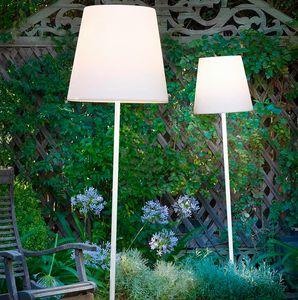 Modern design outdoor garden floor lamp Fiaccola Ali Baba by Slide SD FCA1, Garden lamp