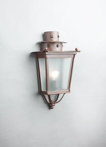 MOROZZI GL3027WA-1, Half lantern in iron with rust finish