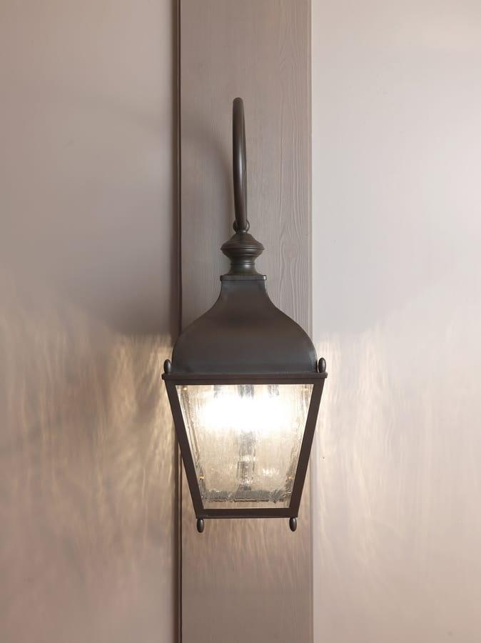 REGGIO GL3035AR, Wall-mounted iron lantern for outdoor use