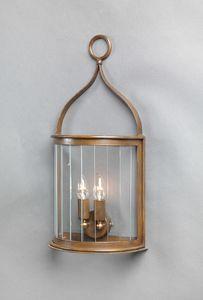 TASIS GL3015WA-3, Outdoor lantern in galvanized iron