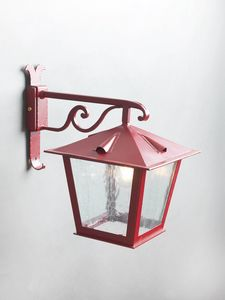 TOSCANA GL3029AR-1dw, Lantern in opaque red iron