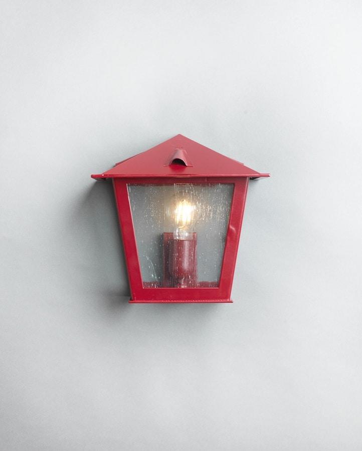 TOSCANA GL3029WA-1, Lantern close to the wall, in iron