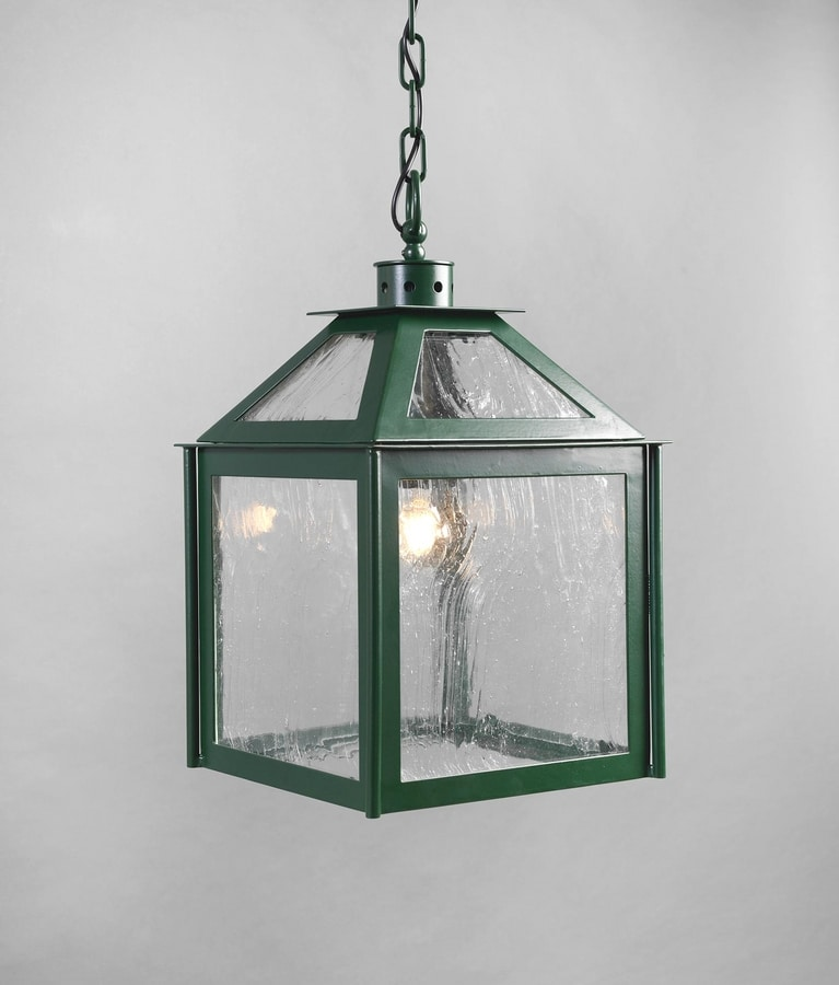 VETRI SOPRA GL3018CH-1, English green lantern for outdoor use