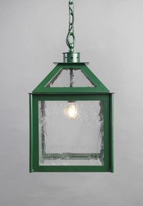 VETRI SOPRA GL3018CH-1, English green lantern for outdoor use