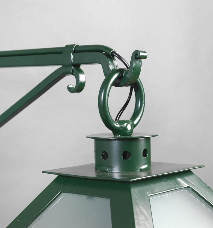 VETRI SOPRA GL3018WA-1AD, Lantern with galvanized glass