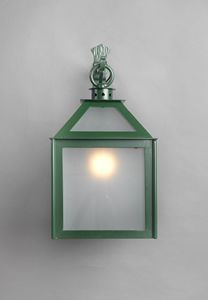 VETRI SOPRA GL3018WA-1AD, Lantern with galvanized glass