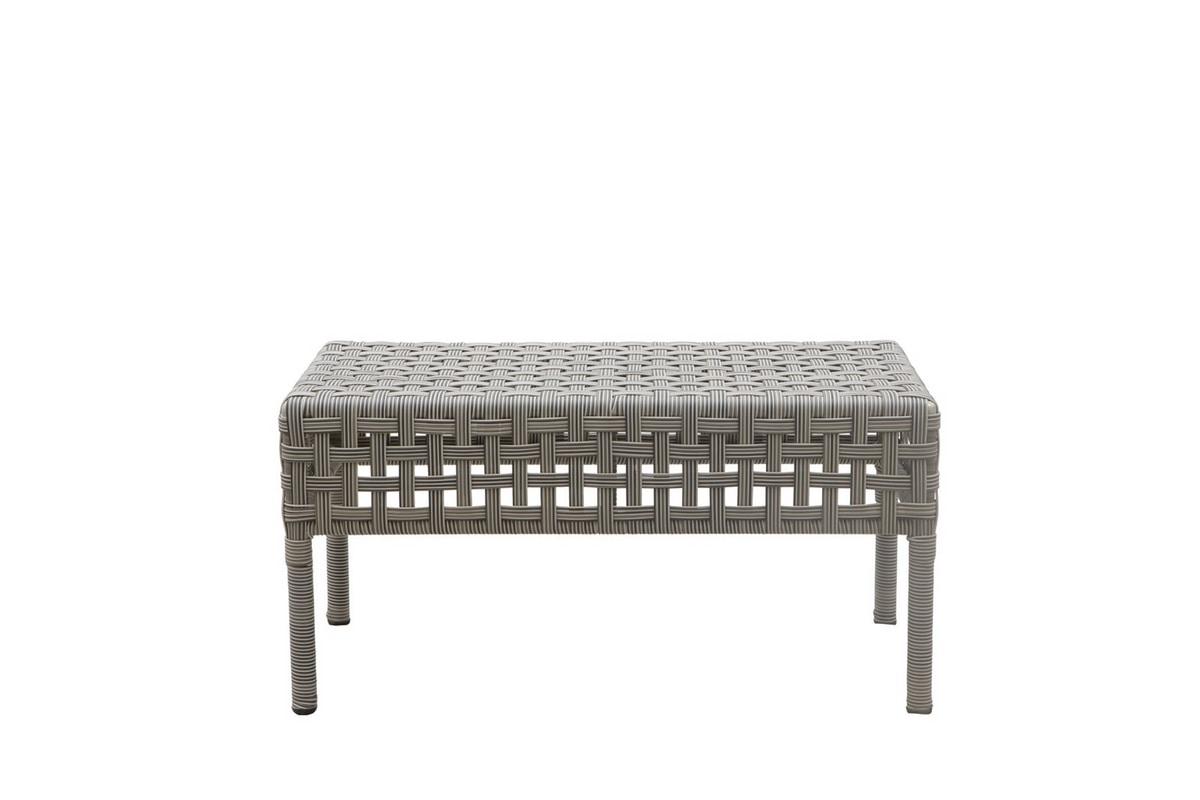 Argali 4430, Rectangular coffee table in synthetic rattan