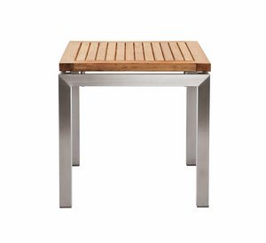 Berbeda 5410, Coffee table in teak and steel