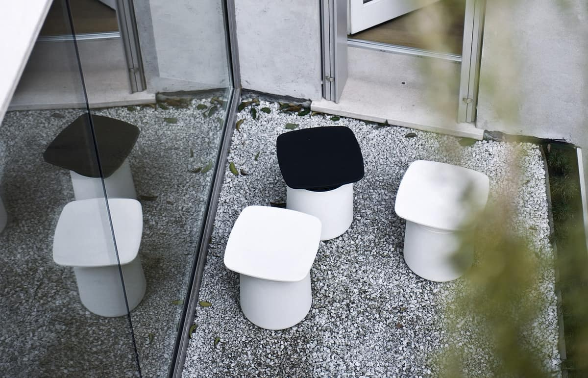 Degree Outdoor, Multifunctional table and container, for outdoor