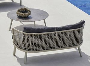 Emma tavolino, Outdoor coffee table with ceramic top