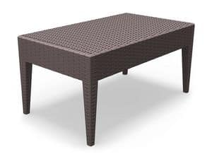 Minorca-TC, Resistant small table, various colors, for outdoor restaurant