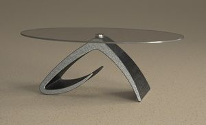 Tritone, Coffee table, stone effect