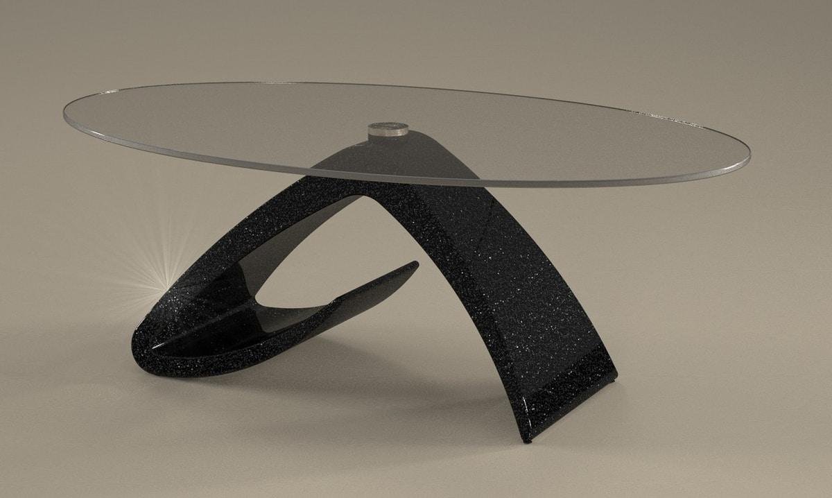 Tritone, Coffee table, stone effect
