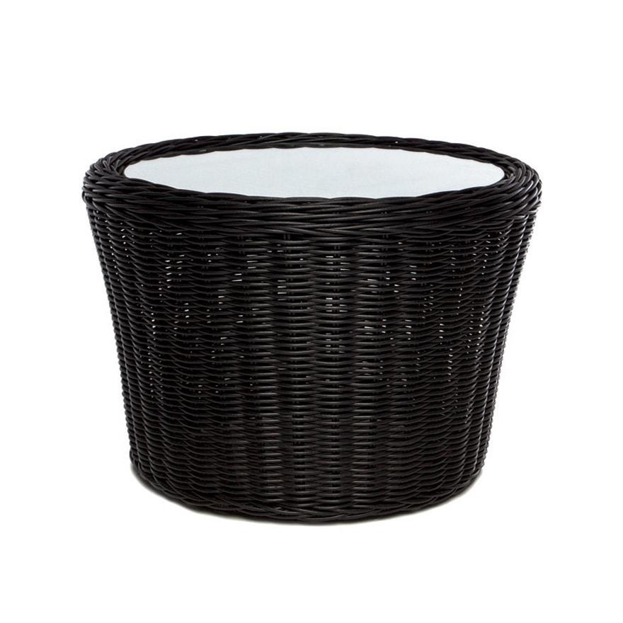 Wapiti 4428, Round low table, in woven fiber