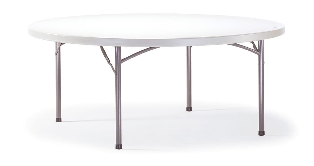 FT PLANET CIRCLE, Round folding table for garden