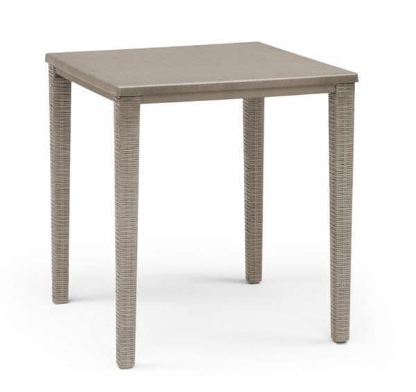 Orazio 2189, Garden table in polypropylene, stackable