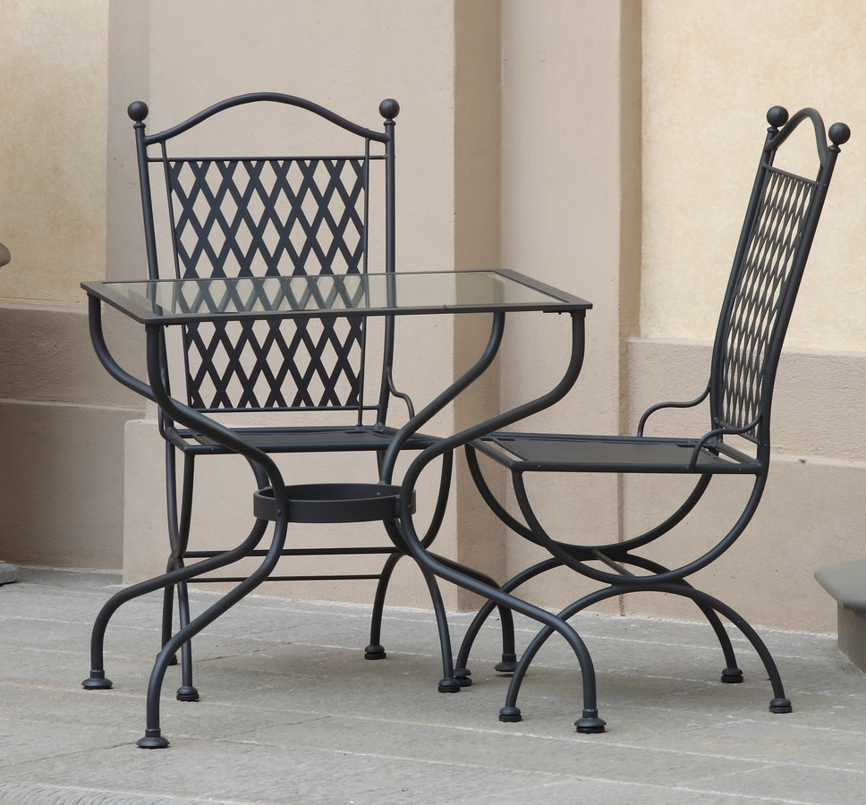 ROMBI GF4002TA-FOUR, Outdoor iron table