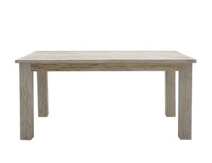 White Sand 6401, Rectangular table in bleached teak