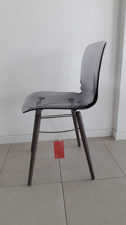 Loto W, Outlet chair in wood and plastic