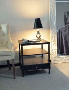 Art. 600 Elena small table with drawer, Coffee table with drawer, outlet price