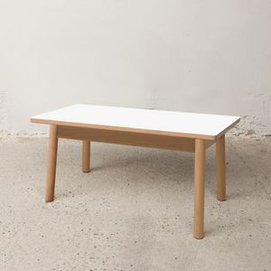 Low table 75x40 cm, Outlet low table in wood
