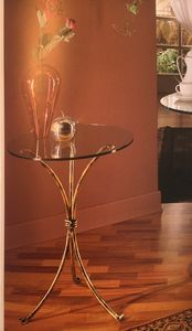 Small table 072/T, Wrought iron table, outlet price