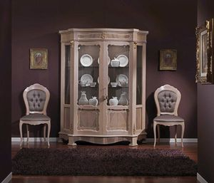 3640 DISPLAY CABINET, Wooden display cabinet, outlet price
