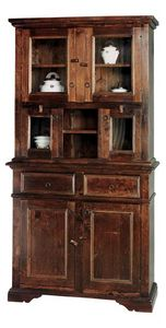 Art. 224, Outlet display cabinet in solid wood