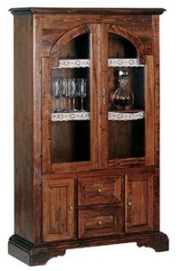 Art. 342, Rustic display cabinet at outlet price