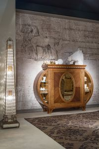 CR53 Leonardo, Sideboard with lighting