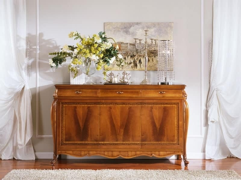 OLIMPIA B / Sideboard with 3 doors - Outlet, Classic style sideboard, outlet price
