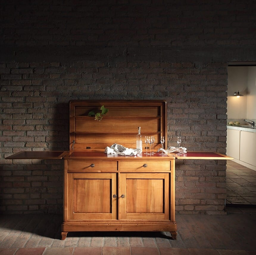 Suzanne BR.0004, Buffet sideboard with opening top