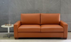 Boston leather, Leather sofa, at outlet price