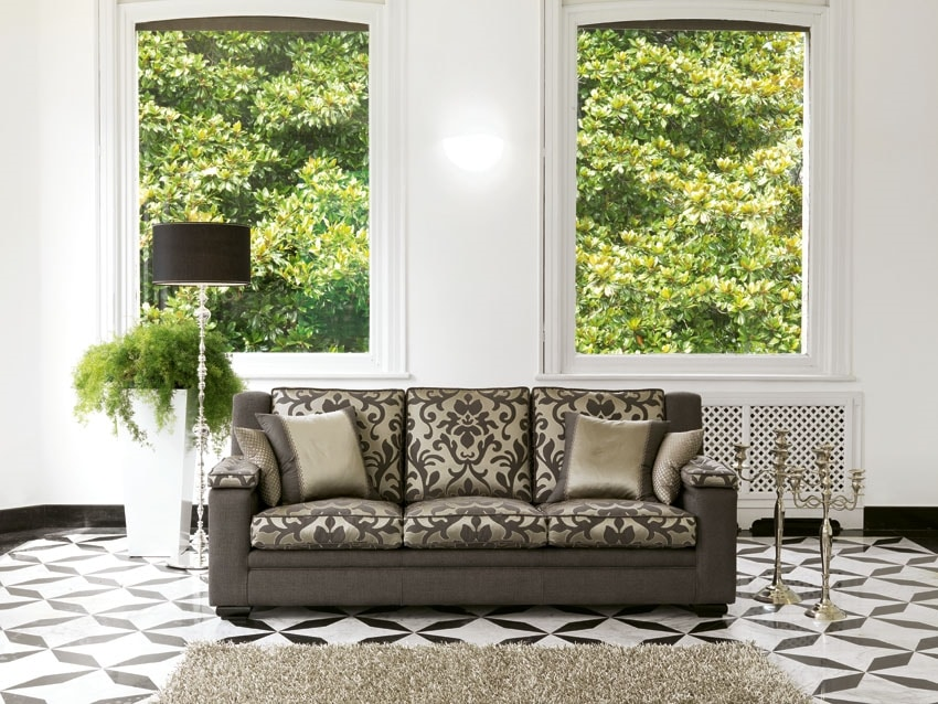 Boston, Outlet sofa with a classic line
