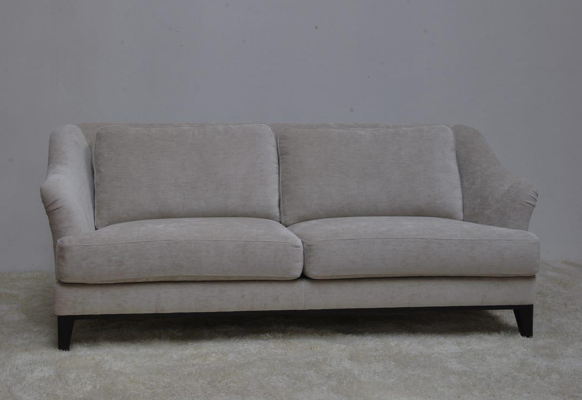 Helene sofa, Elegant sofa proposed at outlet price