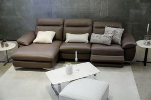 Tender, Sofa with peninsula, with relax settings