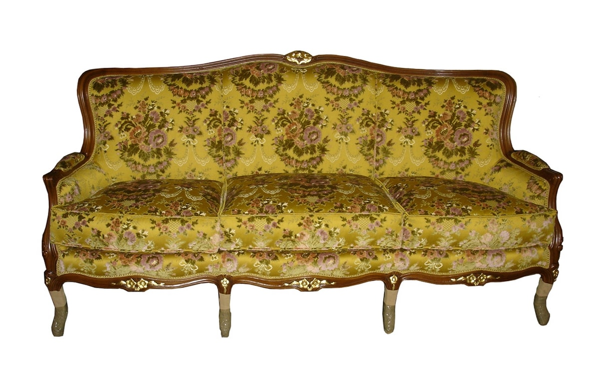 Tolone sofa, Classic sofa at outlet price