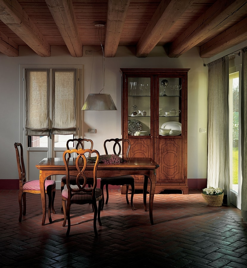 Nantes VS.5556, Provencal style table with 2 extensions