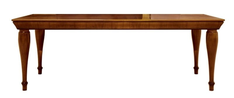 Tretyakov CH.0101, Outlet table, in walnut, extendable