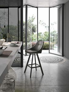 BILBAO PLUS SG195, Stool with soft seat