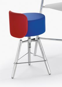Blog, Collection of padded stools