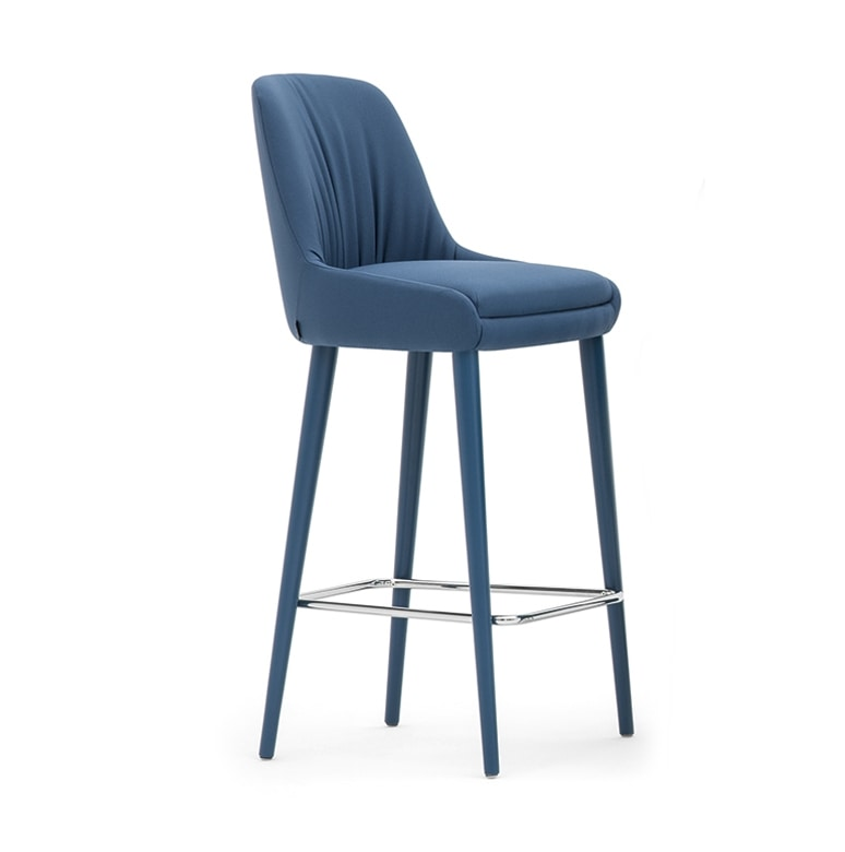 Danielle 03682, Padded stool with a modern design