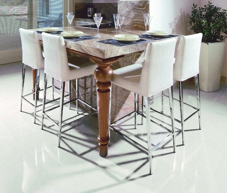 Hollywood 247/4, Padded stool for kitchen counter