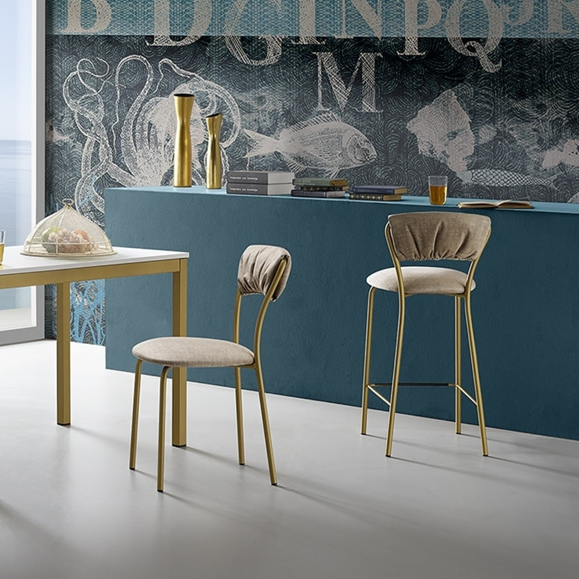 Lily-SG65, Comfortable and soft stool