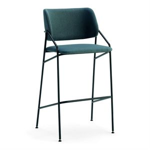 Line SGF, Metal stool, upholstered