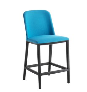 Manaa Slim Stool, Stool upholstered with footrest