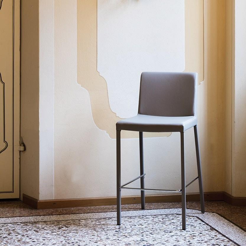 Novis-SG65, Linear stool, fully upholstered