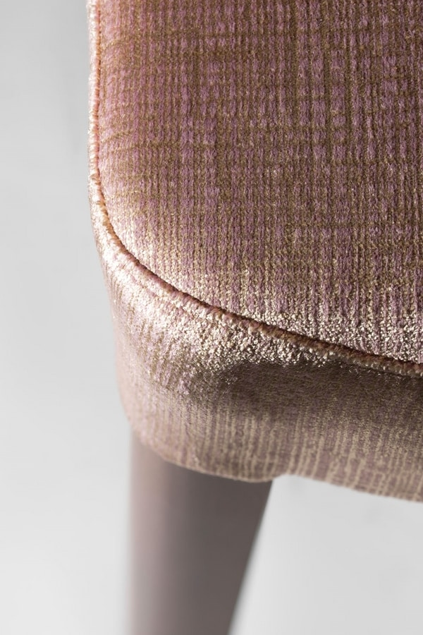 SOFIA BAR STOOL 045 SG, Stool with round back